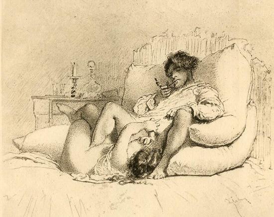 рисунки художников порно